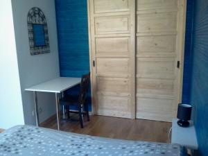 chambre principale appartement Majorelle