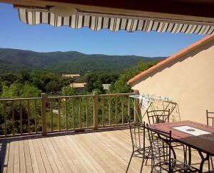 terrasse appartement Majorelle