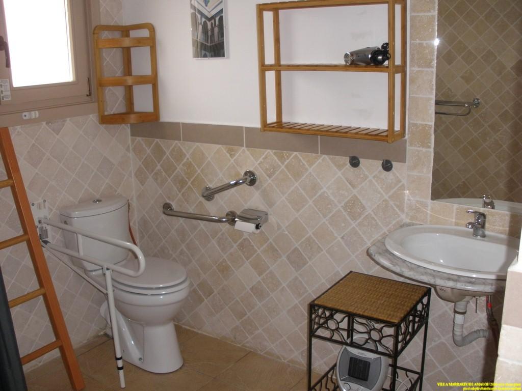 salle d eau adapté fauteuils roulants