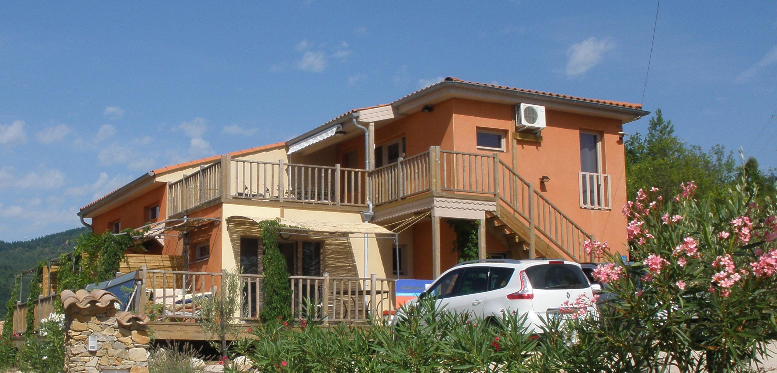 villa Marrakech Lamalou gites locations hébergements appartements plain pied Lamalou les bains
