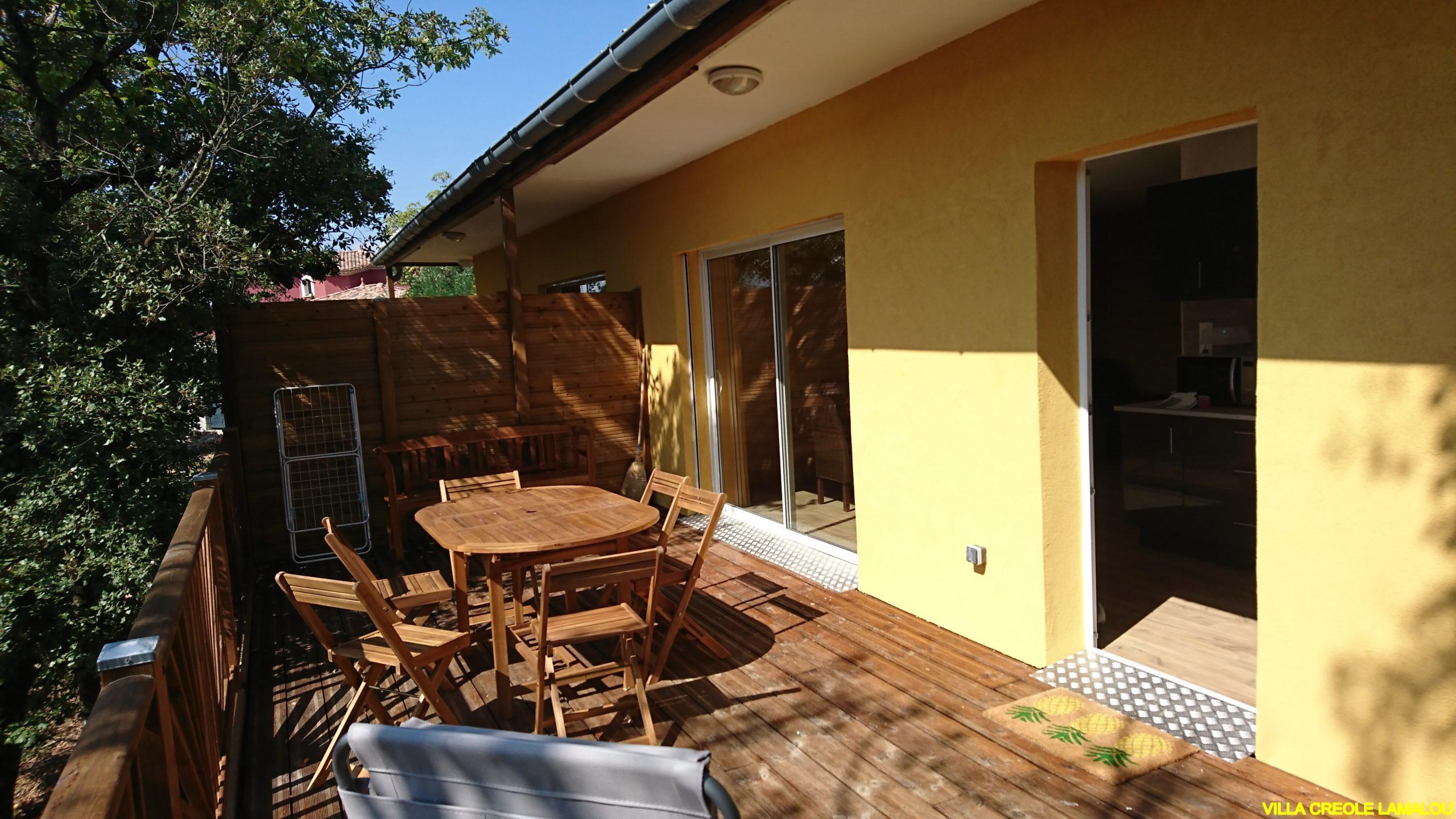 LOCATION appartement POUR CURE A LAMALOU :